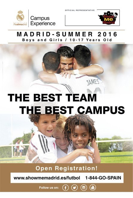 Real Madrid Foundation Campus Experience